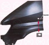 MERCEDES SPRINTER (W901/2/3/4) 96-06 WING, LEFT FRONT, WITH HOLE FOR           x
